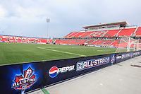 BMO Field prior to the MLS All-Star Game between the MLS All-Stars and West Ham United at BMO Field in Toronto, Ontario, Canada, on July 24, 2008.