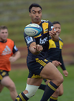 120704 Super 15 Rugby - Hurricanes Training
