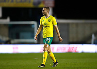 2nd February 2021; The Den, Bermondsey, London, England; English Championship Football, Millwall Football Club versus Norwich City; Ben Gibson of Norwich City