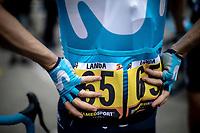 Mikel Landa (ESP/Movistar) pre stage.<br /> <br /> Stage 19: Saint-Jean-de-Maurienne to Tignes (126km)<br /> 106th Tour de France 2019 (2.UWT)<br /> <br /> ©kramon