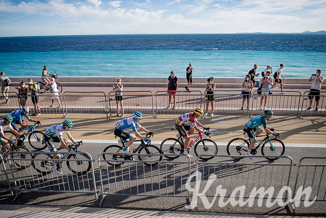 rolling in next to the sea<br /> <br /> Stage 2 from Nice to Nice (186km)<br /> <br /> 107th Tour de France 2020 (2.UWT)<br /> (the 'postponed edition' held in september)<br /> <br /> ©kramon
