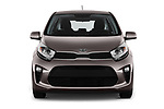 Car photography straight front view of a 2017 KIA Picanto Fusion 5 Door Hatchback