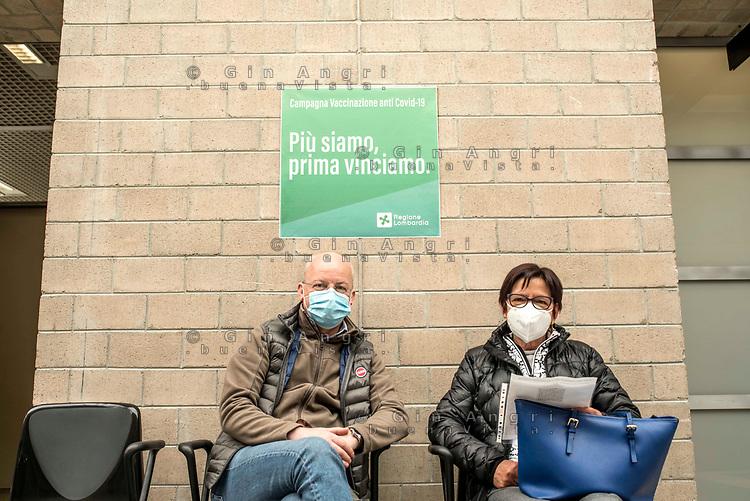 Como, Villa Erba, campagna vaccinazione Covid 19