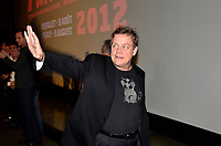 Montreal (QC) CANADA  - July 21 , 2012  - Mark Hamill (Luke Skywalker in Star Wars) appears at fantasia film Festilval surrounded by bodyguards and security after someone threaten to kill him during his visit to Montreal for the nternational premiere of Sushi Girl