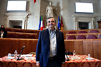 One of the candidates mayor of Rome at the next elections Carlo Calenda, during a conference in the Giulio Cesare hall of the Campidoglio. <br /> Rome (Italy), September 15th 2021<br /> Photo Samantha Zucchi Insidefoto