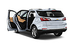 Car images close up view of a 2020 Chevrolet Equinox Premier 5 Door SUV doors