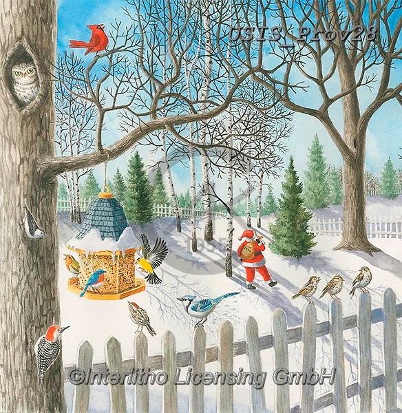 Ingrid, CHRISTMAS LANDSCAPES, WEIHNACHTEN WINTERLANDSCHAFTEN, NAVIDAD PAISAJES DE INVIERNO, paintings+++++<br /> USISPROV28,#xl#