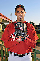 Feb 25, 2010; Kissimmee, FL, USA; The Houston Astros pitcher Polin Trinidad (82) during photoday at Osceola County Stadium. Mandatory Credit: Tomasso De Rosa / FOUR SEAM IMAGES