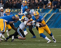 Pitt running back James Conner (24). The Pitt Panthers defeated the Duke Blue Devils 56-14 at Heinz Field in Pittsburgh, Pennsylvania on November 19, 2016.