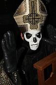 GHOST - vocalist Papa Emeritus II - Rouen France - 05 Feb 2016.  Photo credit: Bertrand Alary/IconicPix