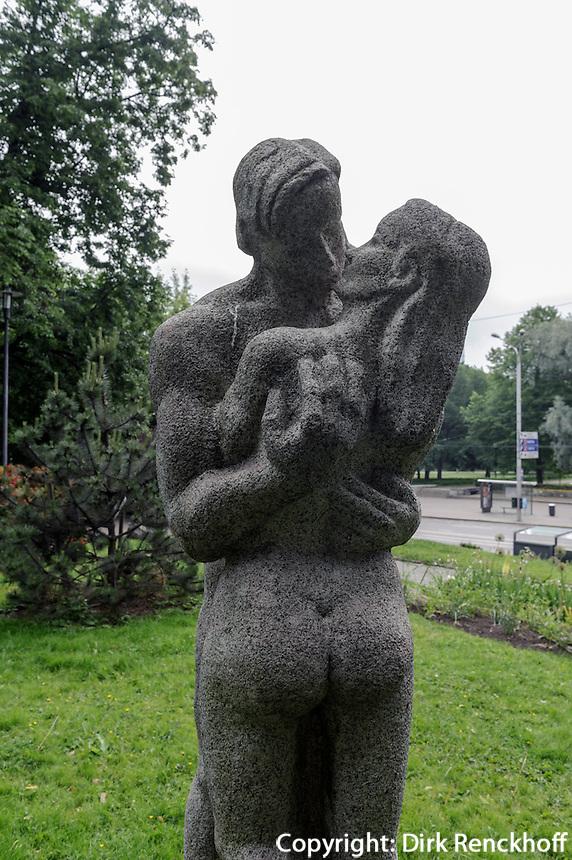 Park in Tallinn (Reval), Estland, Europa, Unesco-Weltkulturerbe