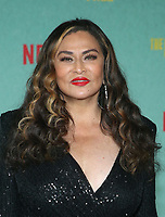 LOS ANGELES, CA - OCTOBER 13: Tina Knowles, at the Special Screening Of The Harder They Fall at The Shrine in Los Angeles, California on October 13, 2021. Credit: Faye Sadou/MediaPunch