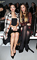 Leah Weller and Amber Le Bon at the Daks show at London Fashion Week for Autumn/Winter 2014, Friday, 14th February 2014. Picture by Stephen Lock / i-Images