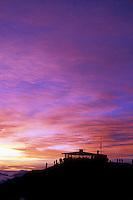 A spectacular sunrise at Haleakala Crater, Haleakala National Park, Maui, Hawaii, USA.