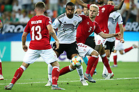 Mads Pedersen of Denmark , Timo Baumgartl of Germany , Victor Nelsson of Denmark <br /> Udine 17-06-2019 Stadio Friuli <br /> Football UEFA Under 21 Championship Italy 2019<br /> Group Stage - Final Tournament Group A<br /> Germany - Denmark  <br /> Photo Cesare Purini / Insidefoto
