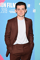 """Craig Roberts<br /> arriving for the """"Eternal Beauty"""" screening as part of the London Film Festival 2019 at the NFT South Bank, London<br /> <br /> ©Ash Knotek  D3523 08/10/2019"""