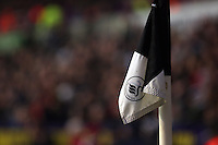 Wednesday, 01 January 2014<br /> Pictured: flag<br /> Re: Barclay's Premier League, Swansea City FC v Manchester City at the Liberty Stadium, south Wales.