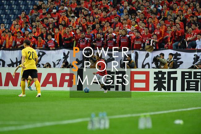 URAWA RED DIAMONDS (JPN) VS GUANGZHOU EVERGRANDE (CHN) during their AFC Champions League Group H match on 5 April 2016 held at the Saitama Stadium 2002, Saitama, Japan.<br /> Photo by Stringer / Lagardere Sports