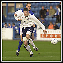 26/10/02       Collect Pic : James Stewart                     .File Name : stewart-qots v ross county 13.STEVEN HISLOP (10) AND ROBBIE NEILSON CHALLENGE FOR THE BALL..........James Stewart Photo Agency, 19 Carronlea Drive, Falkirk. FK2 8DN      Vat Reg No. 607 6932 25.Office : +44 (0)1324 570906     .Mobile : + 44 (0)7721 416997.Fax     :  +44 (0)1324 570906.E-mail : jim@jspa.co.uk.If you require further information then contact Jim Stewart on any of the numbers above.........