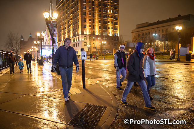 First Night 2013 at Grand Center in St. Louis, MO on Dec 31, 2012.