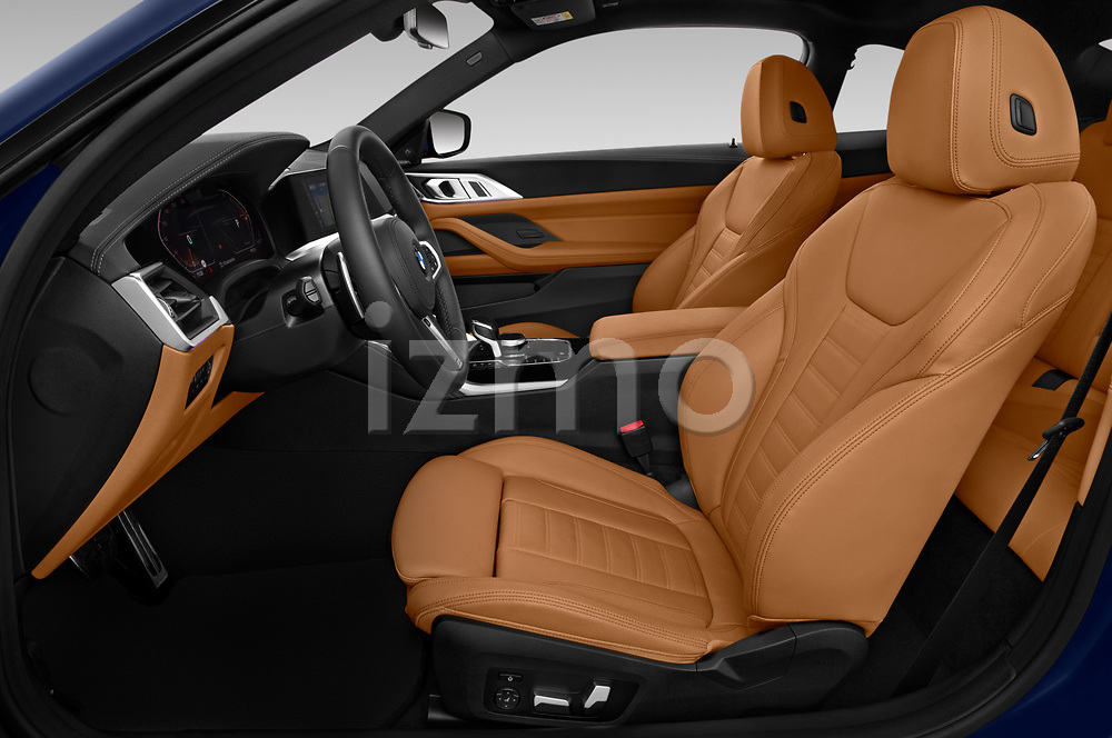 Front seat view of a 2021 BMW 4 series M Sport 2 Door Coupe