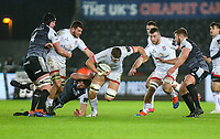 Saturday 15th February 2020 | Ospreys vs Ulster Rugby<br /> <br /> Matty Rea in action during the PRO14 Round 11 clash between the Ospreys and Ulster Rugby at the Liberty Stadium, Swansea, Wales. Photo by John Dickson/DICKSONDIGITAL