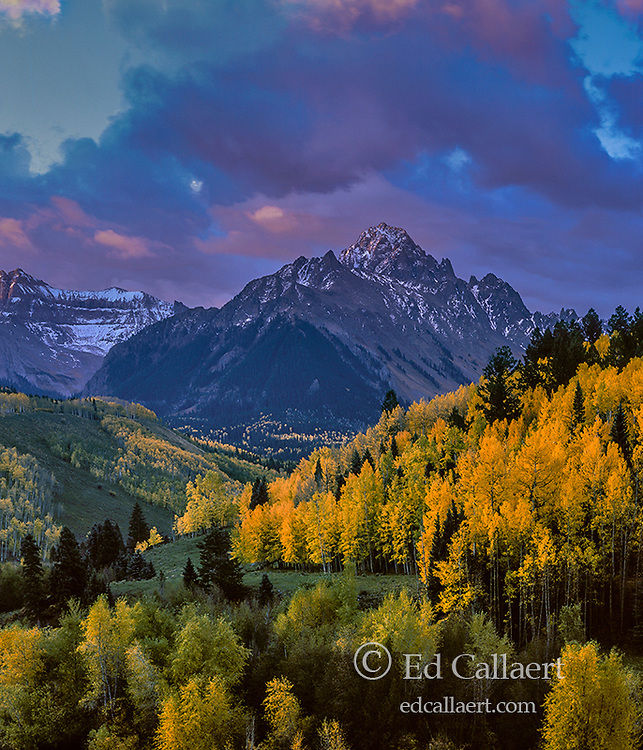 Dawn, Mount Sneffels, Dallas Divide, Uncompahgre National Forest, Colorado