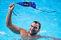 Team SERBIA gold medal<br /> CROATIA vs SERBIA<br /> CRO vs SRB<br /> Waterpolo - Men's final <br /> Day 16 08/08/2015<br /> XVI FINA World Championships Aquatics Swimming<br /> Kazan Tatarstan RUS July 24 - Aug 9 2015 <br /> Photo Giorgio Perottino/Deepbluemedia/Insidefoto