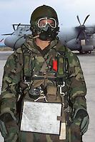 - paratroopers of the airborne brigade Folgore in training, equipment for the launch from high altitude..- paracadutisti della brigata aerotrasportata Folgore in addestramento,  equipaggiamento per il lancio da alta quota
