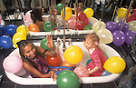 Anna Ermakowa celebrates her 4th birthday party ( 2004 ) in London England. She is the Love Child daughter of German tennis star Boris Becker and former Russian waitress Angela Ermalowa / Ernakova after fumbled love making in a London restaurant broom cupboard.