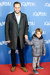 """Jorge Blass attends to the premiere of the film """"¡Canta!"""" at Cines Capitol in Madrid, Spain. December 18, 2016. (ALTERPHOTOS/BorjaB.Hojas)"""