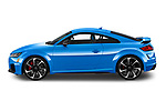 Car driver side profile view of a 2019 Audi TT RS Base 3 Door Coupe