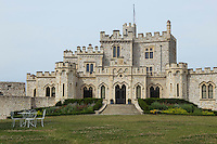 France, Pas-de-Calais (62), Côte d'Opale, Condette: Château d'Hardelot  //  France, Pas de Calais, Cote d'Opale (Opal Coast), Condette: Hardelot Castle