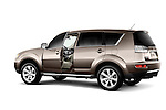 2010 Mitsubishi Outlander SUV With Driver Door Open