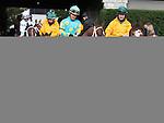 October 04, 2014:Mr. Z and jockey Jon Court in the Claiborne Breeders' Futurity Grade 1 $500,000 at Keeneland Racecourse.  Candice Chavez/ESW/CSM