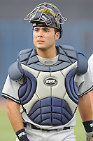 Jose Montero #45 Catcher Scranton/Wilkes-Barre Yankees (Yankees) May 7, 2010 Photo By Tony Farlow/Four Seam Images