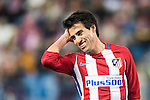 Nicolas Gaitan of Atletico de Madrid reacts during their Copa del Rey 2016-17 Round of 16 match between Atletico de Madrid and UD Las Palmas at the Vicente Calderón Stadium on 10 January 2017 in Madrid, Spain. Photo by Diego Gonzalez Souto / Power Sport Images