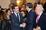Pablo Casado and Jose Luis Rodriguez Zapatero attends to Spanish Constitution 40th Anniversary Concert at National Auditorium of Music in Madrid, Spain. December 05, 2018. (ALTERPHOTOS/A. Perez Meca)