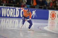 SCHAATSEN: HEERENVEEN: 15-12-2018, ISU World Cup, 500m Men Division A, Dai Dai Ntab (NED), ©foto Martin de Jong