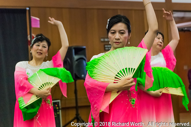 The 2018 Lunar New Year - celebrating The Year of the Dog at the San Leandro Library.  Performers included:  Vovinam San Jose, Chung Ngai Dance Troupe and EGO Korean Drummers.