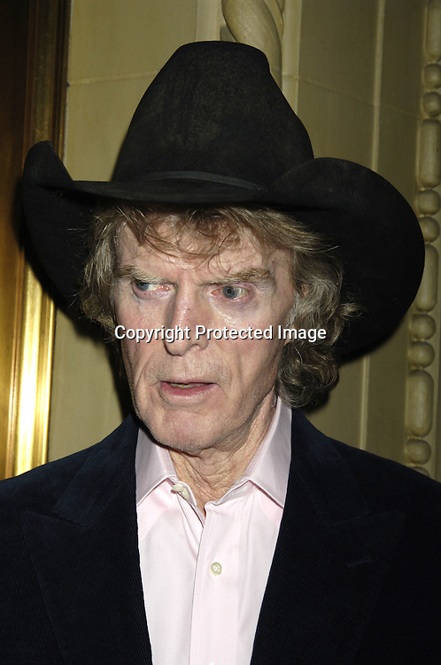 Don Imus ..at The Best of Brooklyn 2005 Dinner and Awards Gala by Brooklyn College ..honoring Michael Lynne on October 25, 2005 at ..Gotham Hall. ..Photo by Robin Platzer,Twin Images