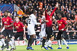 Marouane Fellaini of Manchester United (R) fights for position with Ruben Nunes Vezo of Valencia CF (C) during the UEFA Champions League 2018-19 match between Valencia CF and Manchester United at Estadio de Mestalla on December 12 2018 in Valencia, Spain. Photo by Maria Jose Segovia Carmona / Power Sport Images