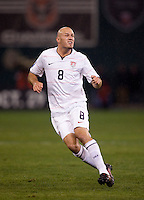 Conor Casey. The USMNT tied Costa Rica, 2-2, during the FIFA World Cup Qualifier at  RFK Stadium, in Washington, DC.   With the result, the USMNT qualified for the 2010 FIFA World Cup Finals in South Africa.