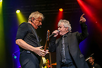 Air Supply performs at the Festival d'ete de Quebec (Quebec Summer Festival) on July 11, 2018.