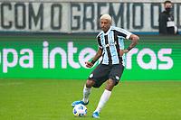 2nd June 2021; Arena do Gremio, Porto Alegre, Brazil; Copa Do Brazil, Gremio versus Brasiliense; Jean Pyerre of Gremio plays the ball through midfield
