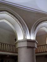 gotischer Treppenturm der mittleren Burg, Schloss Weinitz- Bojnicky zamok in Bojnice, Trenciansky kraj, Slowakei, Europa<br /> Gothic staircase in castle Bojnicky zamok in Bojnice, Trenciansky kraj, Slovakiai, Europe