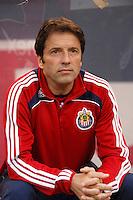 CD Chivas USA head coach Preki Radosavljevic. The New York Red Bulls defeated CD Chivas USA 1-0 during a Major League Soccer match at Giants Stadium in East Rutherford, NJ, on June 5, 2008.