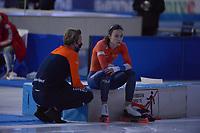 SPEEDSKATING: HEERENVEEN: 12-02-2021, IJsstadion Thialf, ISU World Speed Skating Championships 2021, ©photo Martin de Jong