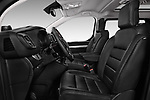 Front seat view of 2017 Peugeot Traveller Allure 4 Door Passenger Van Front Seat  car photos