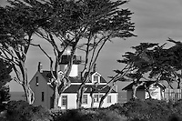 Point Pinos Lighthouse. Pacific Grove, California